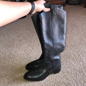 Louis et Cie tall leather boots
